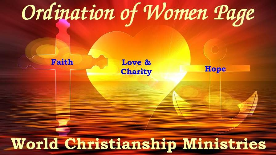 womens ordination page