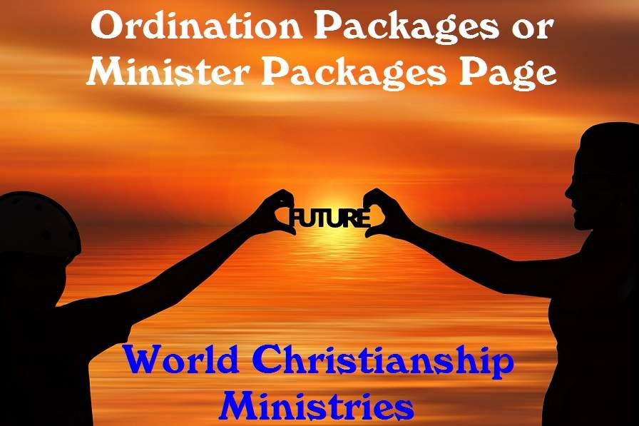 ordination packages page
